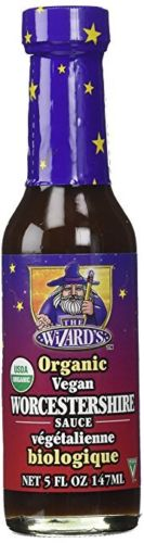 The Wizard's Organic Vegan Worcestershire Sauce, 5oz - Snazzy Gourmet