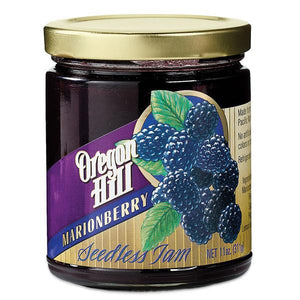 Oregon Hill Seedless Marionberry Jam 11 oz. - Snazzy Gourmet