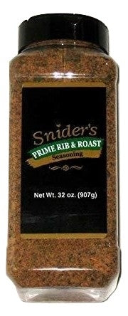 Snider's Prime Rib & Roast Seasoning, 32 oz