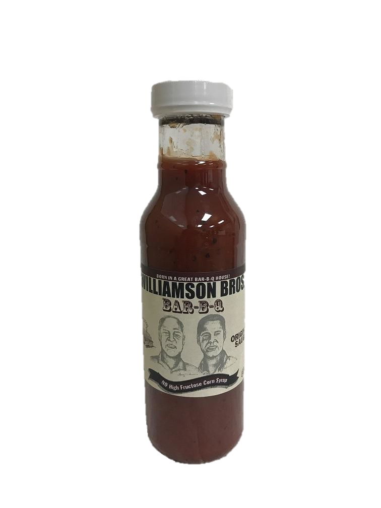 Williamson Bros. Original BBQ Sauce 12 oz - Snazzy Gourmet