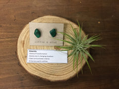 Little & Stud - Raw Gemstone Earrings