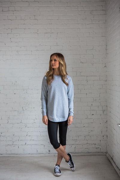 Jessie Top Light Grey