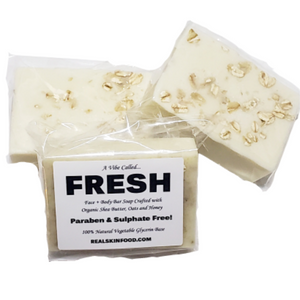 A Vibe Called...FRESH - Butters, Oats & Honey Soap