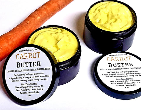 Carrot Butter - for Dark Spots & Aging Skin - Real Skinfood Shop