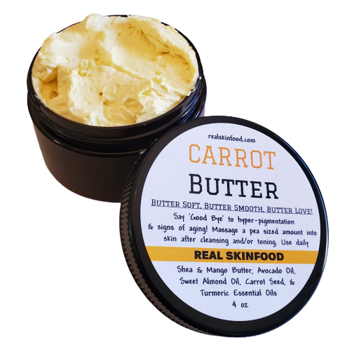 BUTTER - Carrot Butter (for Dark Spots & Aging Skin)