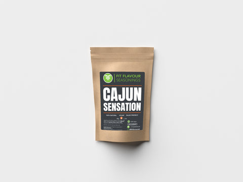 Fit Flavour Cajun Sensation Macro Friendly Seasoning (50g Pouch)