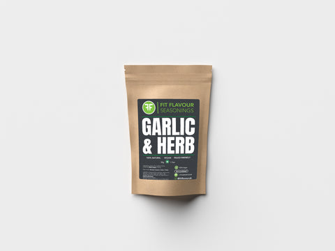 Fit Flavour Garlic and Herb Macro Friendly Seasoning (50g Pouch)
