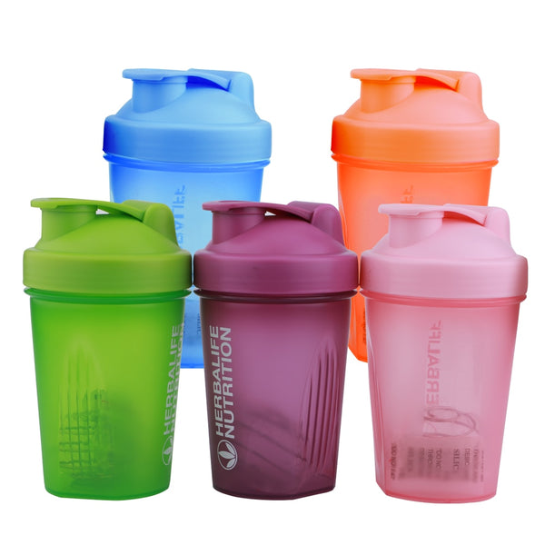 400ML Colorful Cute Protein Shaker
