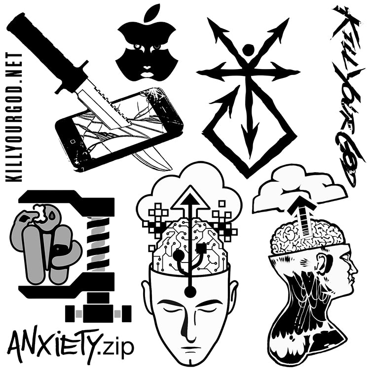 KYG TATTOO SHEET