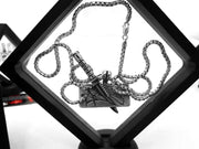 KILL YOUR GOD x ALLIGATOR JESUS: KYG LOGO CHARM + CHAIN-Kill Your God