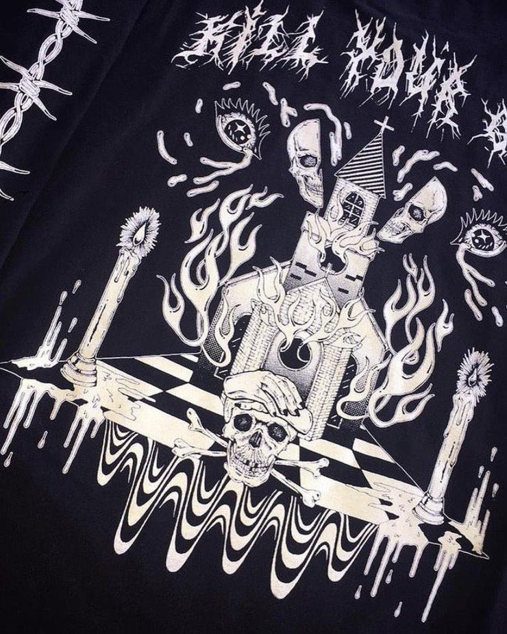 KILL YOUR GOD x KELSEY NIZIOLEK: DIGITAL TOUCH GLOW IN THE DARK & 3M REFLECTIVE L/S SHIRT