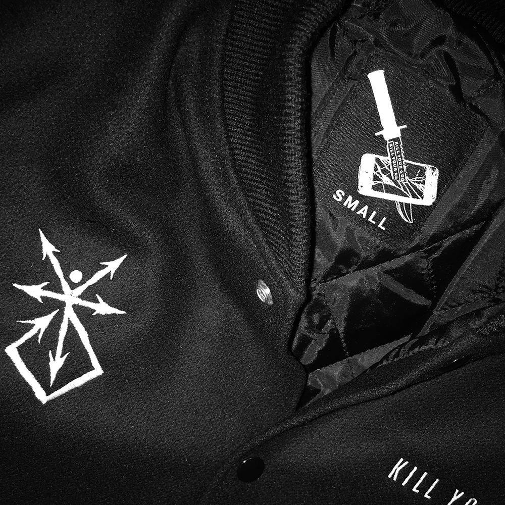 Outerwear - KILL YOUR GOD VARSITY JACKET