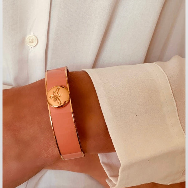 EMILIA Bangle coral roségold