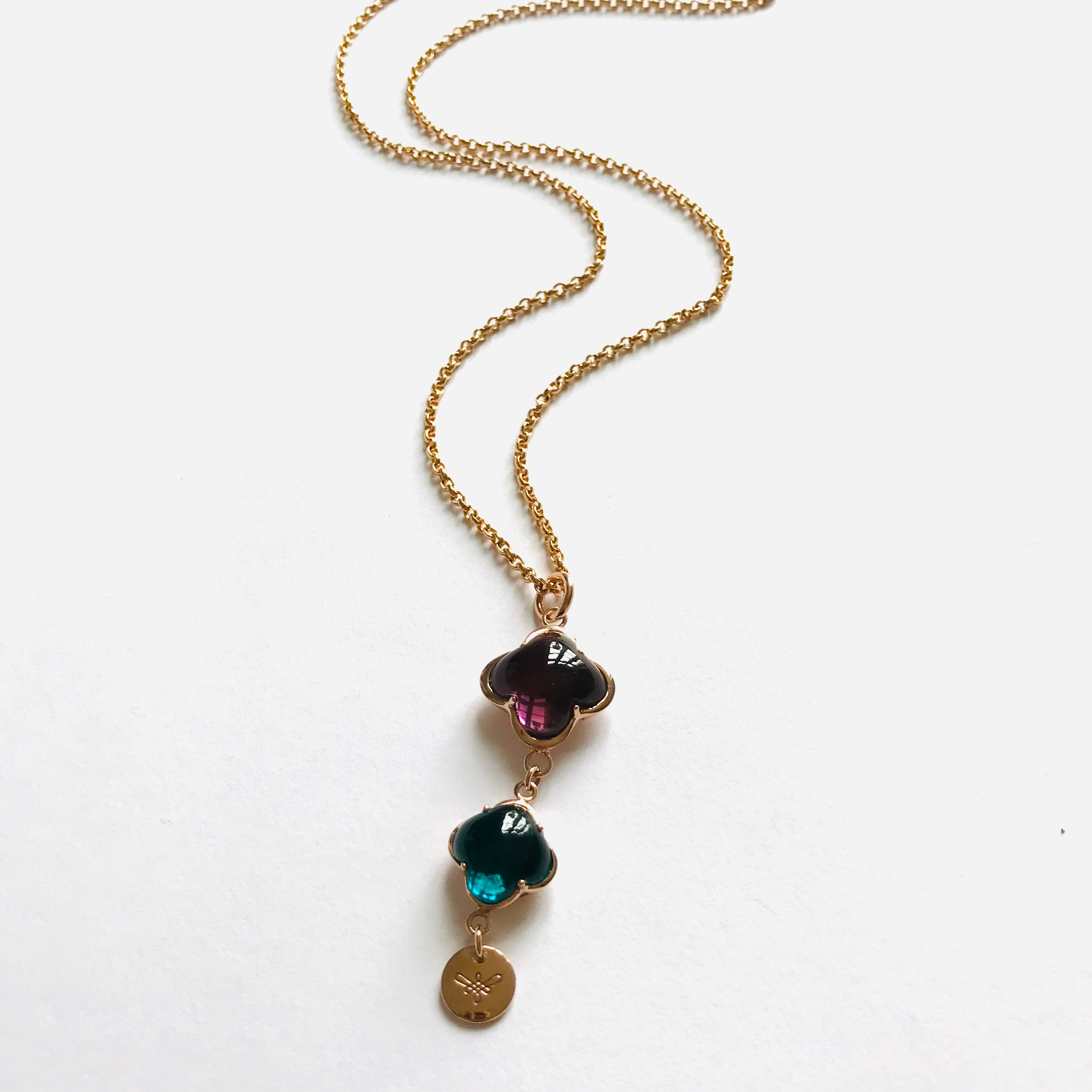 CLEIA LONG Necklace roségold, multi