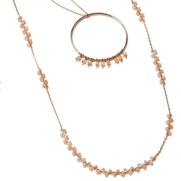 NORMA Necklace Sunstone