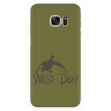 Phone Case / Comin' In Hot Design / Mud / Swamp Green Cover