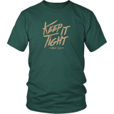 Keep It Tight / District Relax Fit Short Sleeve / Sand Design
