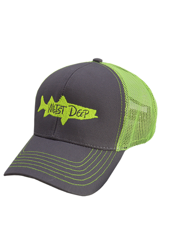 Hat / Snapback / Snook / Gray / Neon
