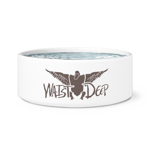 Duck Design Dog Bowls (Ceramic)