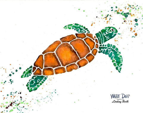 Lindsay Booth Original Art / Sea Turtle