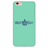 Phone Case / Sea Turtle Design / Navy / Sea Foam Cover