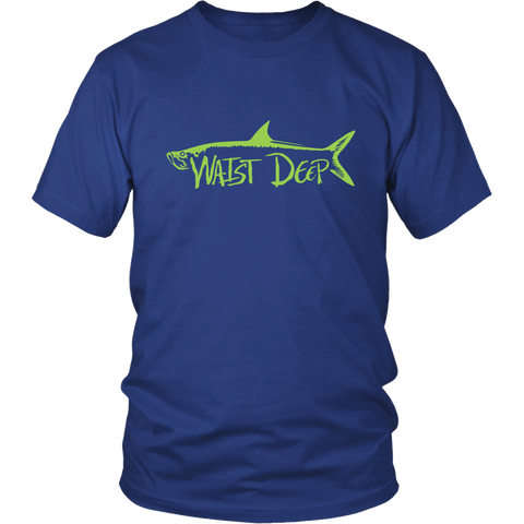 Tarpon / District Relax Fit Short Sleeve / Light Blue Design