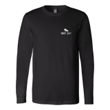 Fly Fishing / Canvas Relax Fit Long Sleeve / White Design