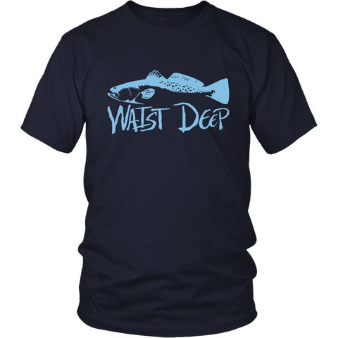 Speckled Trout / District Relax Fit Short Sleeve / Light Blue Design