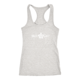 Racerback Tank / Sea Turtle Design (White)