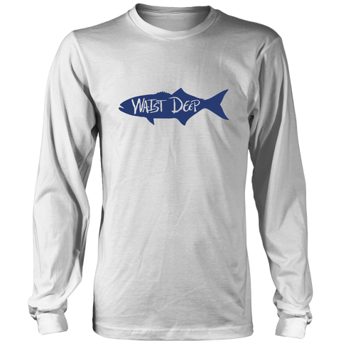 Bluefish / District Relax Fit Long Sleeve / Navy Design