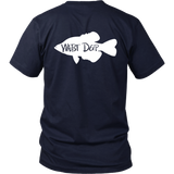 Crappie / District Relax Fit Short Sleeve / White Design