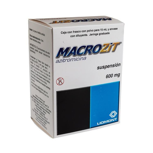 MACROZIT 600MG SUSP 15ML