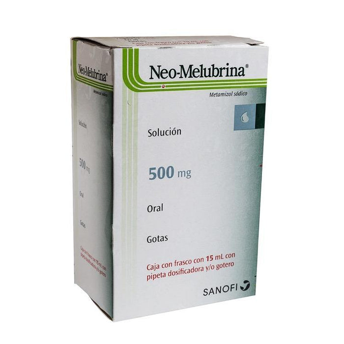 NEOMELUBRINA 500MG GTS 15ML