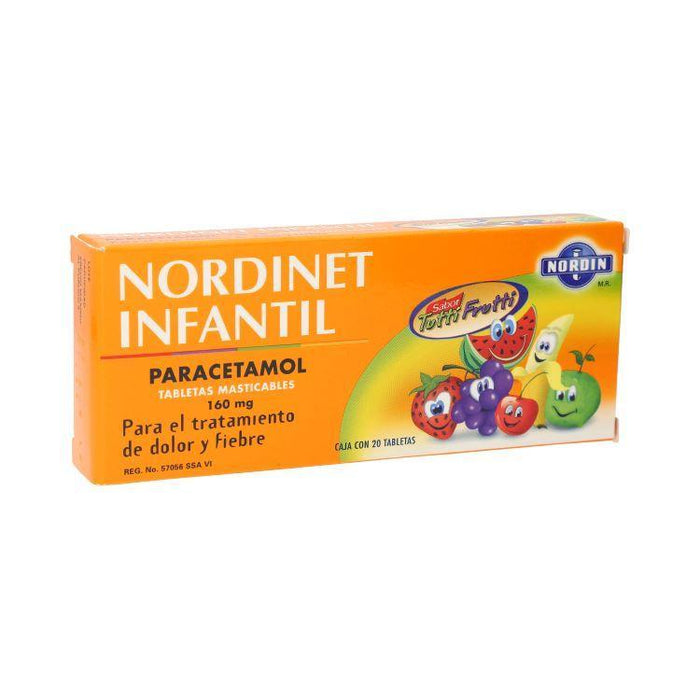 NORDINET INF 160MG TAB C20