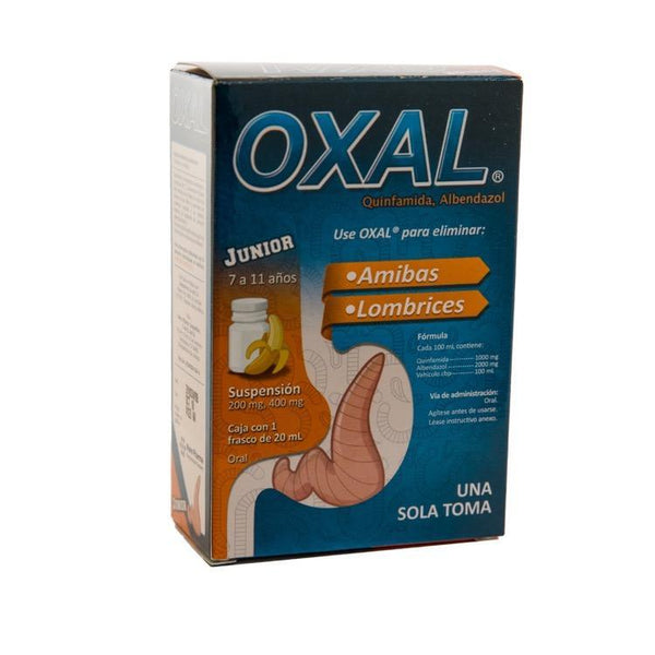 OXAL JR 200/400MG SUSP 20ML