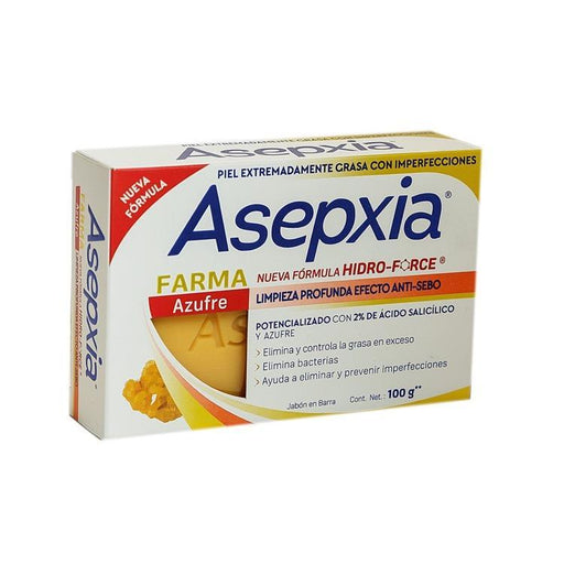 ASEPXIA JBN AZUFRE 100G