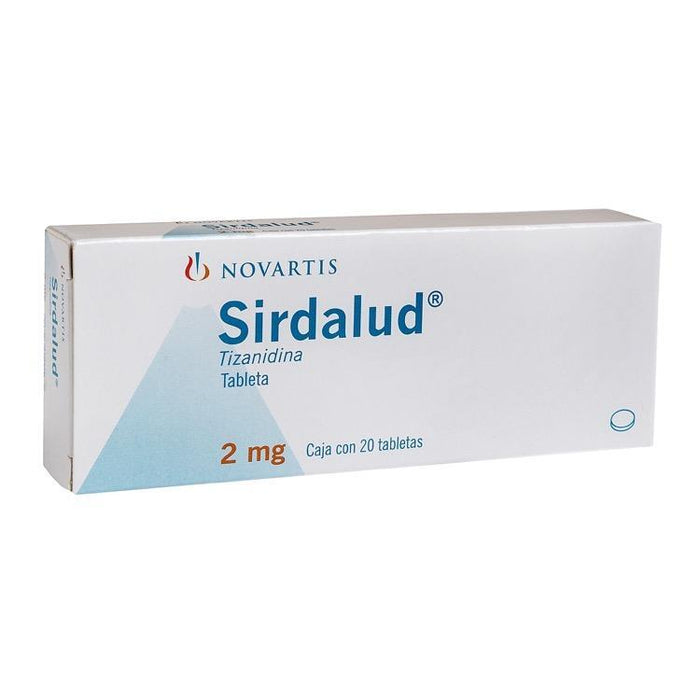 SIRDALUD 2MG CPR C20
