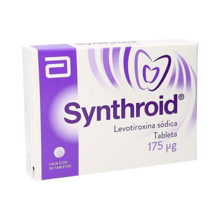 SYNTHROID LEVOT 175MG C30 TAB