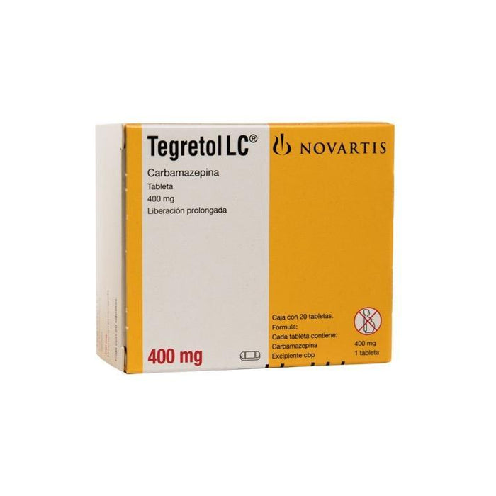 TEGRETOL LC 400MG CPR C20