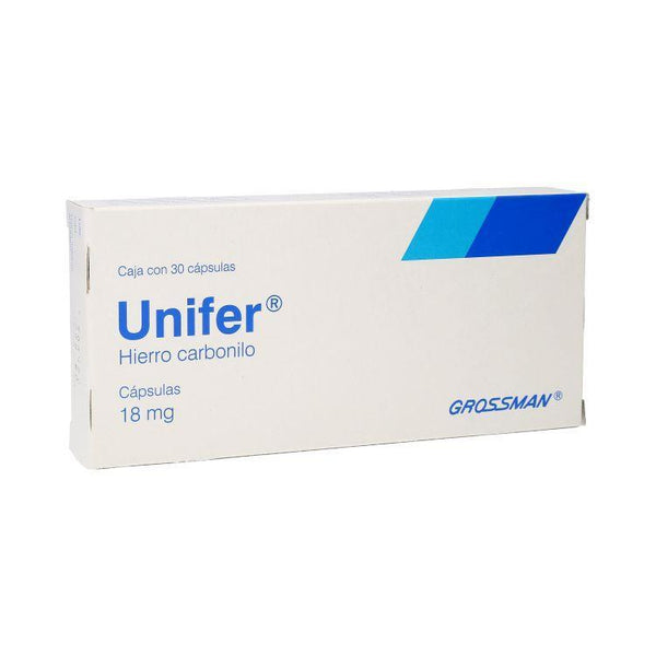 UNIFER 18MG CAP C30