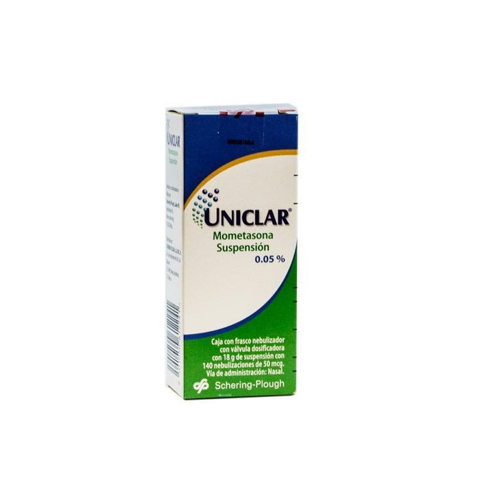 UNICLAR NASAL SPRY 18ML