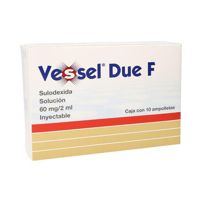 VESSEL DUE F 60MG INY C10