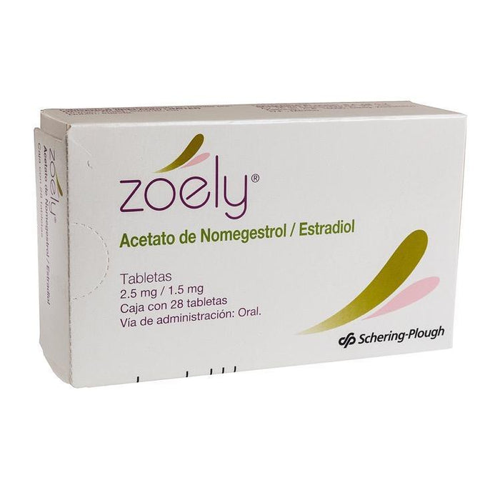 ZOELY 2 5MG TAB C28