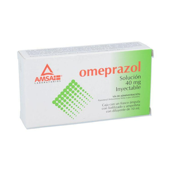 OMEPRAZOL 40MG INY 10ML 1AMP