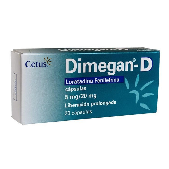 DIMEGAN D 5/20MG CAP C20