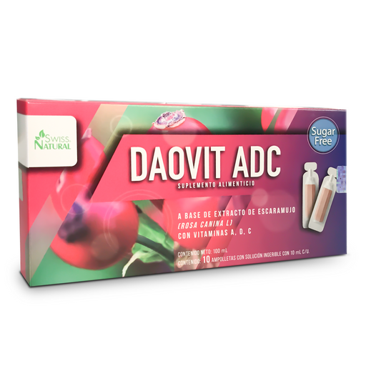 DAOVIT SOL INGERIBLE. CAJA C/10 AMPOLLETAS C/5 ML.