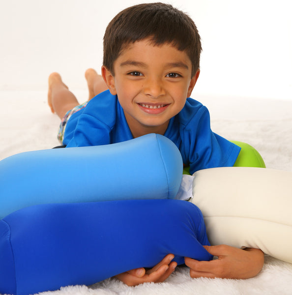 Squishy Deluxe Microbead Bolster Pillow Junior