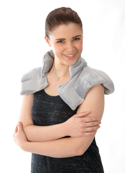 Squishy Deluxe Herbal Hot cold Neck Wrap front view