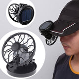 Clip On Solar Power Fan