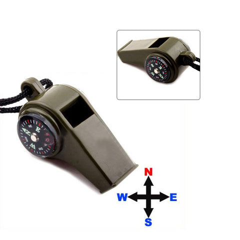 Emergency Survival Whistle Navigation